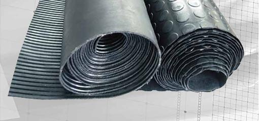 Покрытия резиновые (ковры)